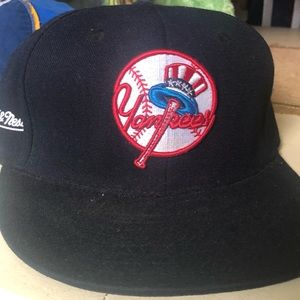 118d4c3acd34f Fitted Mitchell   Ness Yankee hat